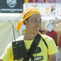 崎川哲一(てつ)2016年度からezorock職員となった。ボランティア期間から森林に関心をもち活動してきた。