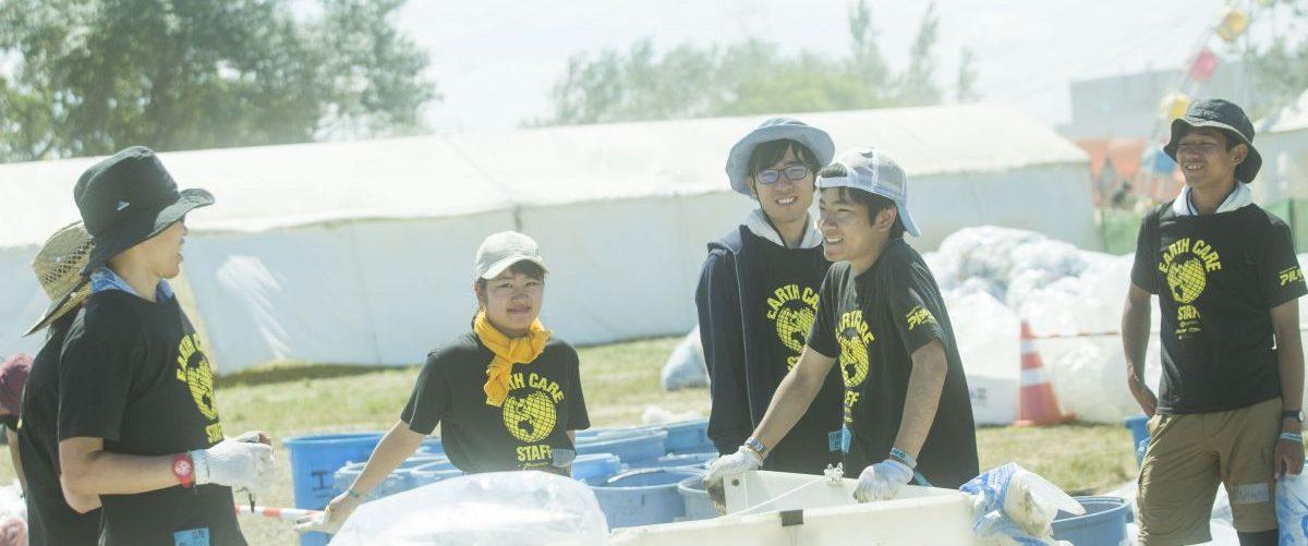 ボランティア活動の様子