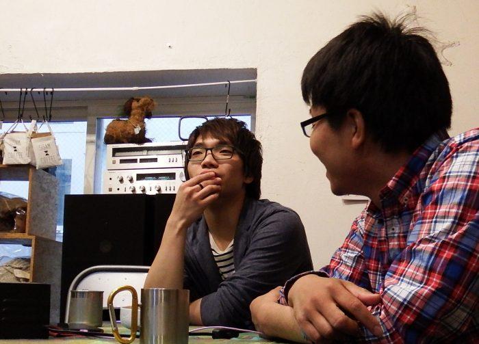 札幌に出てきた理由を回想中のあまてるとそれを見守る草野竹史