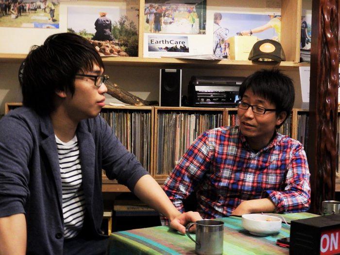 北海道だからこそ経験できることをしたいと話しています。