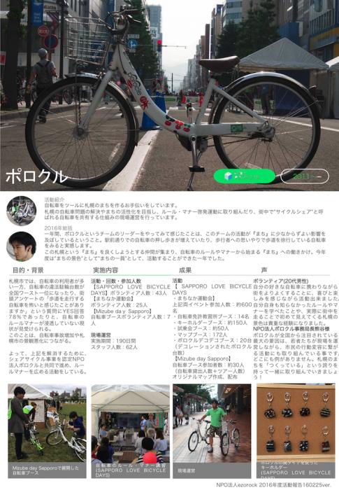 ポロクル2016活動報告レポート